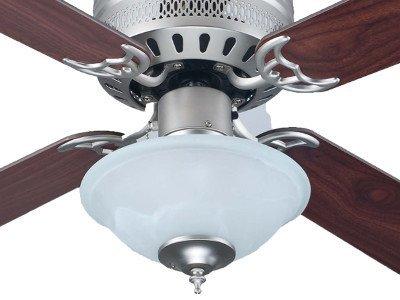 Concord CF42177-53 42 inch Hugger Ceiling Fan Brushed Nickel
