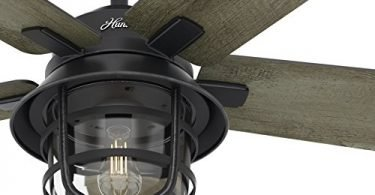 Hunter 54-inch Weathered Zinc Outdoor Ceiling Fan