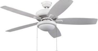 52 inch Honeywell Blufton Outdoor white Ceiling Fan