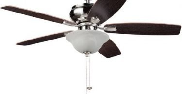 52 inch Honeywell Elston Ceiling Fan with LED light