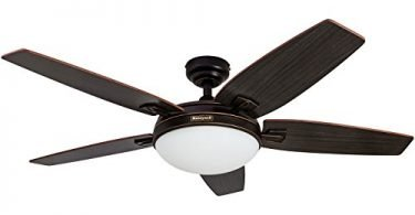 Honeywell Carmel 48-Inch Ceiling Fan with Integrated Light Kit