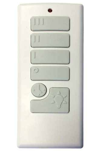 Harbor Breeze 40837 Off White Handheld Universal Remote