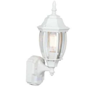 Hampton Bay Alexandria 180° White Motion-Sensing Outdoor Decorative Lamp Manual