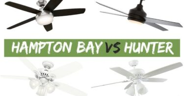 hampton bay vs hunter ceiling fans