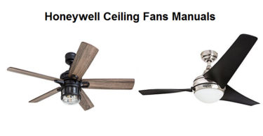 honeywell ceiling fan manuals