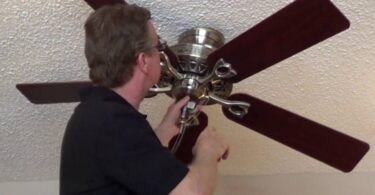 how to remove a hampton bay ceiling fan