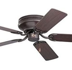 Emerson Ceiling Fans CF805SORB Snugger 52-Inch Low Profile Hugger Ceiling Fan