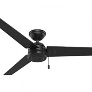 Hunter 59264 52-inch Cassius Matte Black Ceiling Fan