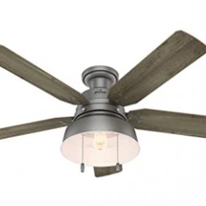 Hunter 59311 Matte Silver Ceiling Fan