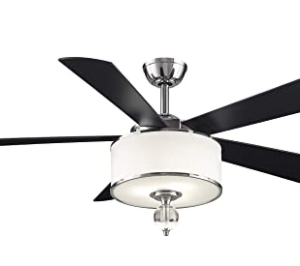 Fanimation Studio Collection LP8242SBLCH Victoria Harbor Ceiling Fan
