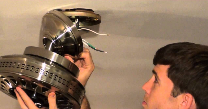 how to remove a hunter ceiling fan