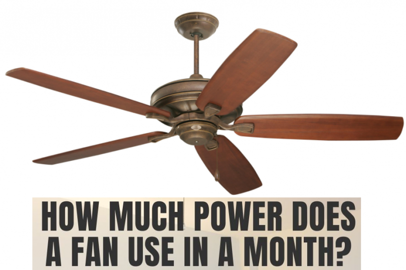 How Much Electricity Does a Ceiling Fan Use