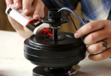 how to oil a hunter ceiling fan