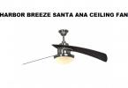 harbor breeze santa ana ceiling fan