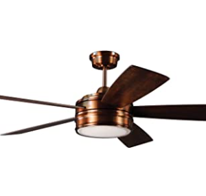 Craftmade Braxton Brushed Copper 52 Inch Ceiling Fan